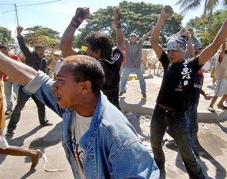 Nowa fala zamieszek w Timorze Wschodnim