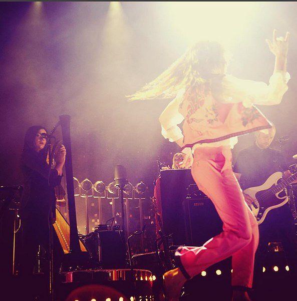 Florence and the Machine ukoronowana... wiankami