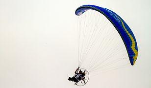 Paralotniarz spadł w wys. 10 m