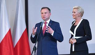Zakłócone przemówienie prezydenta w Gdyni. Gwizdy i okrzyki