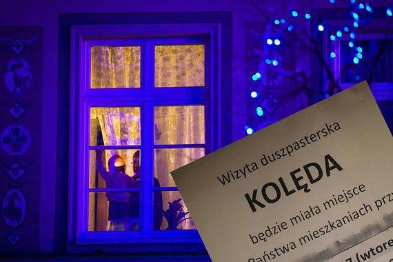 """Podejrzana kolęda na Grochowie? Parafia przeprasza: """"zaszło nieporozumienie"""""""
