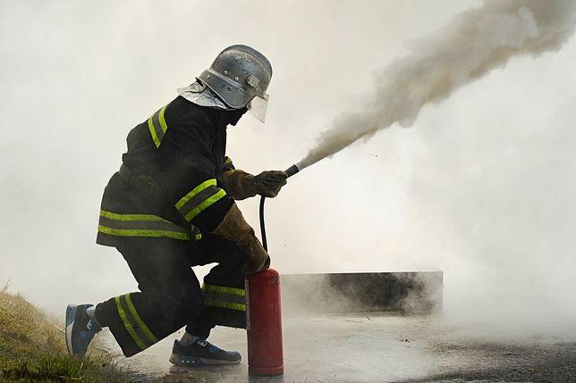 Pożar hotelu w Poznaniu. Ewakuacja ponad 40 osób