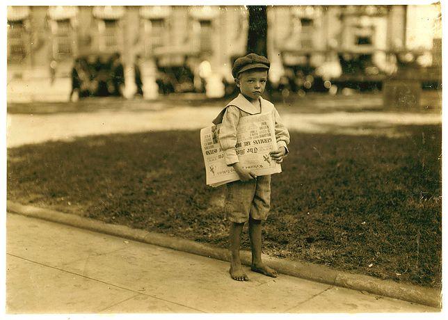 Praca małoletnich była czymś powszechnym w XIX wieku