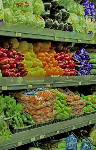 Etykiety na warzywach często kłamią.