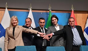 Paweł Kukiz z sojusznikami z Finlandii, Włoch, Chorwacji i Grecji