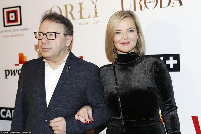 Monika Zamachowska od 2014 r. jest żoną aktora Zbigniewa Zamachowskiego.