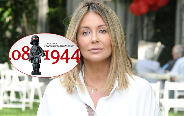 Małgorzata Rozenek zaapelowała do fanów, by uczcić Powstańców Warszawskich