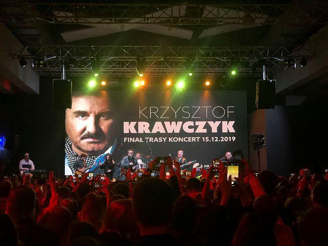 Byliśmy na jubileuszowym koncercie Krzysztofa Krawczyka
