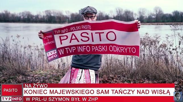 """Klip """"Pasito"""" Szymona Majewskiego"""