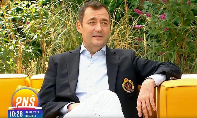 Jacek Rozenek wraca do zdrowia po przebytym udarze