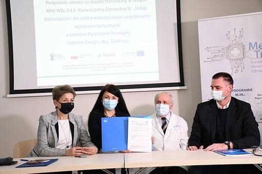 Zabrze. Władze województwa śląskiego i Kardio-Med Silesia podpisały umowę o współpracy.