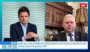 Marek Suski o zapowiedzi Tomasza Grodzkiego. Użył mocnych słów