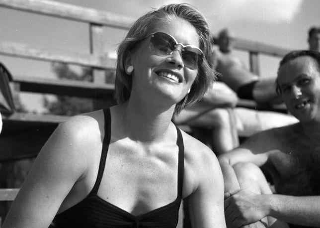 Alina Janowska, Warszawa, lata 50