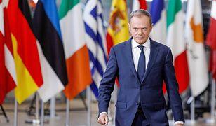 Donald Tusk na szczycie Rady Europejskiej