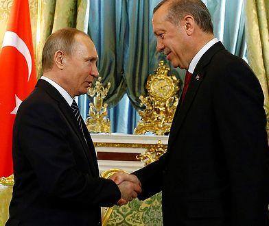 Prezydent Turcji z wizytą w Moskwie