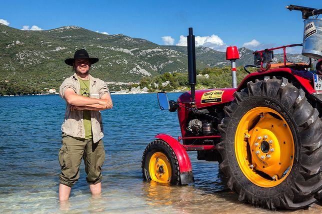 Zawsze chciałem mieć takie coś... Ekspedycja traktorem dookoła świata