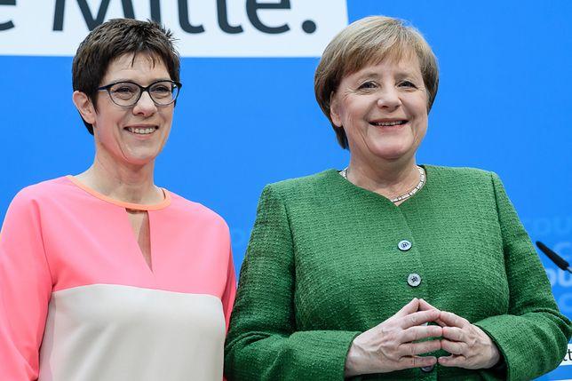 Merkel namaściła swoją następczynię. Kim jest Annegret Kramp-Karrenbauer?