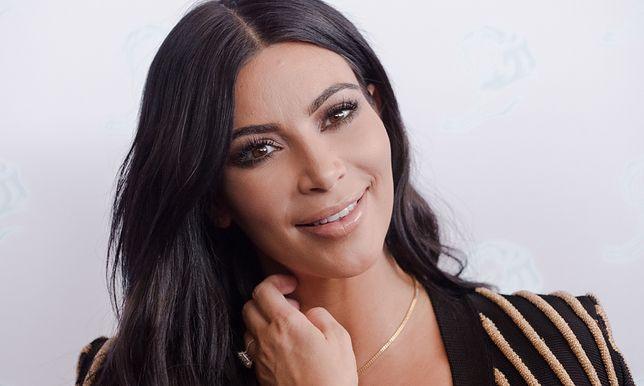 Kim Kardashian zmieniła kolor włosów