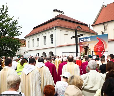 Procesja z okazji Bożego Ciała w Krakowie w 2019 roku