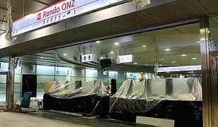 Tak wygląda stacja Rondo ONZ. Do końca prac zostało 8 dni. [ZDJĘCIA]