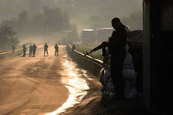 Ponad 80 ukraińskich pograniczników schroniło się na terytorium Rosji