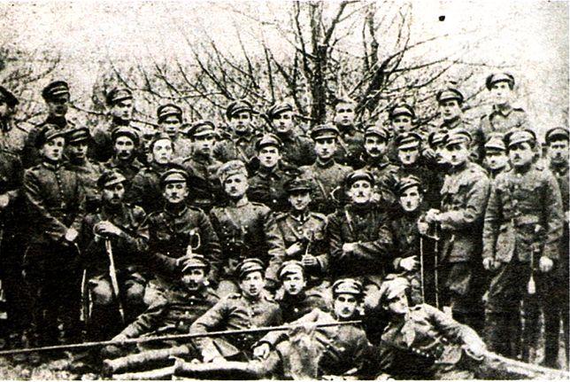 Żołnierze Pułku Jazdy Tatarskiej