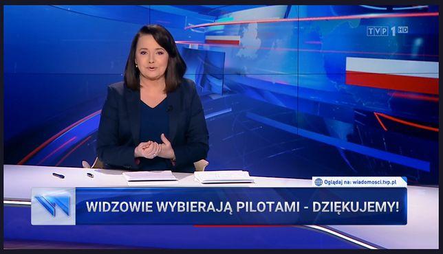 """""""Wiadomości"""" zareagowały na Telekamery"""