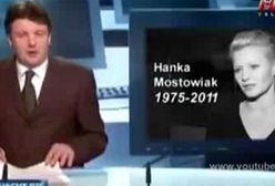 Świat żegna Hankę Mostowiak!