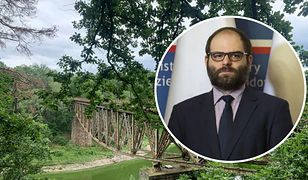 Wiceminister kultury Paweł Lewandowski o wysadzeniu mostu Pilchowickiego