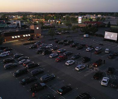 Tak wyglądają kina samochodowe w USA