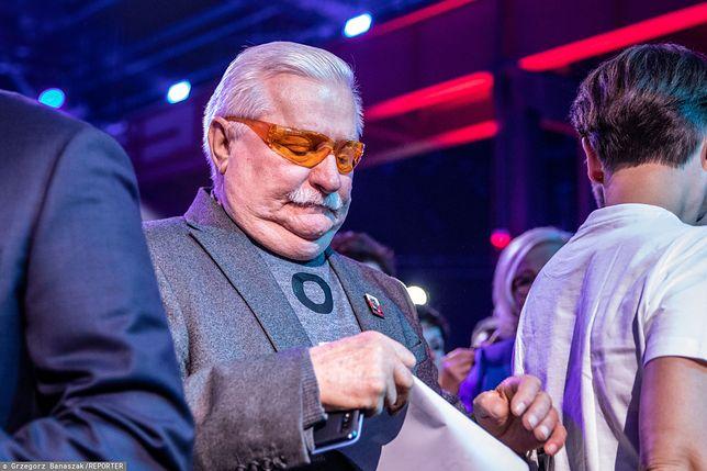 Lech Wałęsa odmawia komentowania sytuacji politycznej w kraju