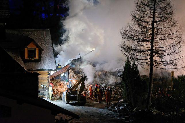 Szczyrk. Po wybuchu gazu zawalił się budynek. W środku mogą być ludzie