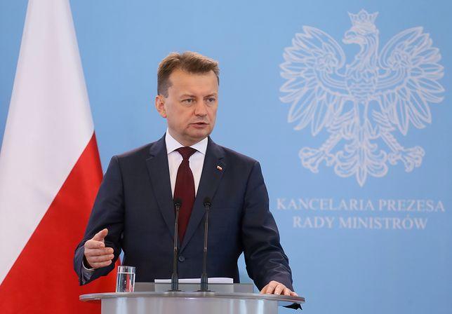 Błaszczak: Polska jest oazą bezpieczeństwa