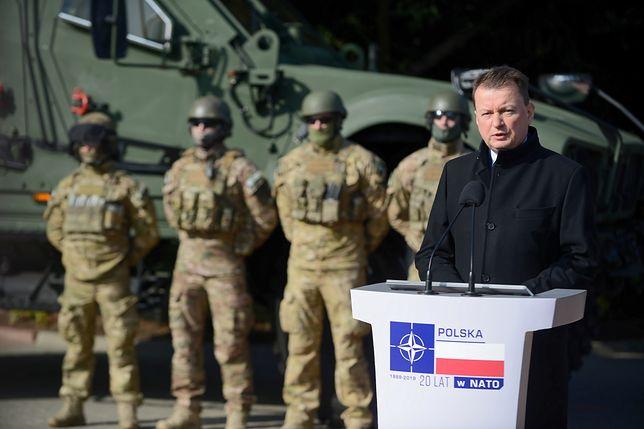 Mariusz Błaszczak zapowiedział, że nowoczesny sprzęt będzie kierowany na wschód