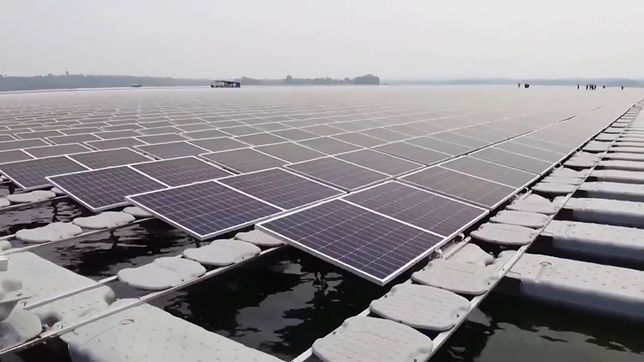 Ogromna hybrydowa farma hydro-słoneczna w Tajlandii