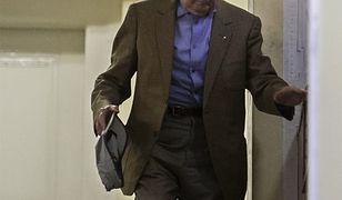 Bela Biszku, były szef węgierskiego MSW w sądzie w 2012 r.
