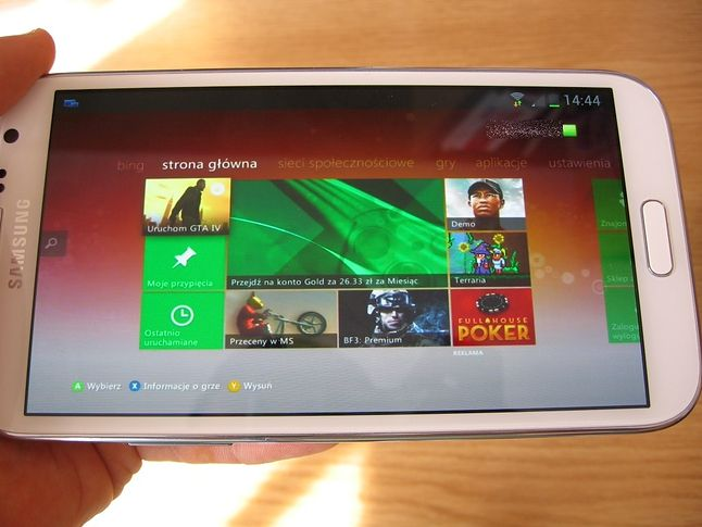 Dashboard Xboxa 360