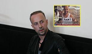 """Adam """"Nergal"""" Darski jest jednym z celebrytów pokazanych przez Latkowskiego w dokumencie """"Nic się nie stało"""""""