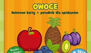 Karty obrazkowe dla dzieci - Owoce