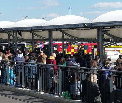 Ewakuacja londyńskiego lotniska. Na miejscu pracują służby