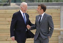 Kryzys dyplomatyczny. Biden chce rozmawiać z Macronem
