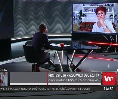 Jolanta Kwaśniewska o protestach kobiet w czasie pandemii