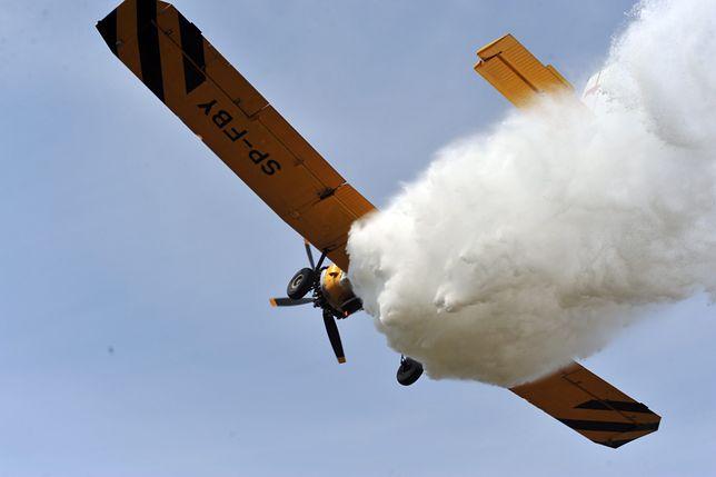 W gaszeniu pożaru brały udział trzy samoloty