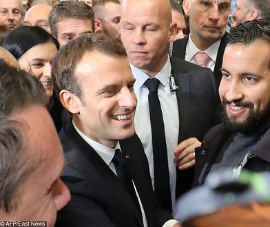 Emmanuel Macron i Alexandre Benalla - takie obrazki należą już do przeszłości