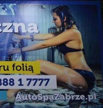 Reklama myjni samochodowej