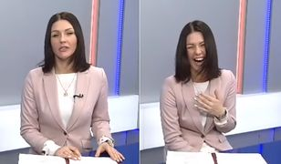 Prezenterka rosyjskiej TV wybuchła śmiechem. Informowała o podwyżkach