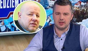 """Kiedy zaczął mówić o Kaczyńskim, wkroczył Rachoń. """"Tak wygląda wolność mediów w TVP Info"""""""