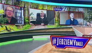 Gratulacje dla Kurskiego na antenie TVP Info. Były nawet kwiaty