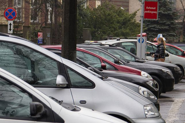 parking parkometr