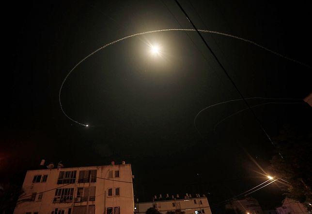 Rakieta przechwytująca pocisk ze Strefy Gazy